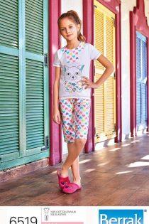 تی شرت شلوارک دخترانه برند براک کد 6519
